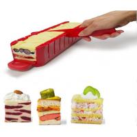 China ABS Kitchen Baking Tools Stackable Appetizer Maker Red SGS 38 * 7 * 7cm on sale