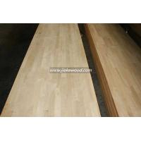 Buy cheap Oak solid wood panel finger jionted panels countertops table tops butcher block tops kitchen tops from Wholesalers