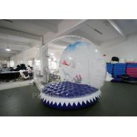 China Shopping Mall Life Size Snow Globe 0.8mm Clear PVC Material For Live Show factory