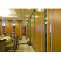 Buy cheap Robust Aluminium Frame Operable Partition Walls , Movable Office Walls Pass Door Incorporated from Wholesalers