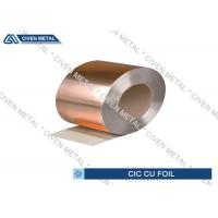 Buy cheap CIC Copper Invar Copper for printed circuit board industry ,  Alloy Foils from Wholesalers