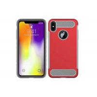 Buy cheap 2 In 1 PC / TPU Plastic Phone Cases Logo Customized With Full Protection from Wholesalers