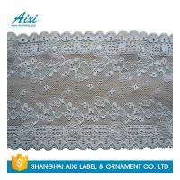 China Gray Women Lingerie Lace Fabric Nylon Stretch Lace African Garment Lace For Dress factory
