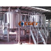 Buy cheap 380V Three  Phase Large Scale Brewing Equipment Brewery Fermentation Tanks from Wholesalers