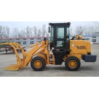 Buy cheap wood grass grab forklift wheel loader china supplier from Wholesalers