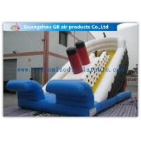 China Popular Titanic Commercial Inflatable Water Slides Double Sided Outdoor factory
