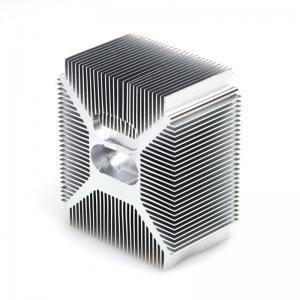 China 5 Axis CNC Auto Parts 0.001mm Anodizing Heatsink factory