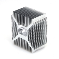 Buy cheap 5 Axis CNC Auto Parts 0.001mm Anodizing Heatsink from wholesalers