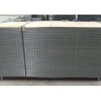 China 4X4 Electro Galvanized Welded Wire Fence Panels For Buliding , Wear Resistant on sale