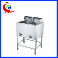 Buy cheap Industrial free standing big capacity Electric Deep Fryer stainless steel from Wholesalers