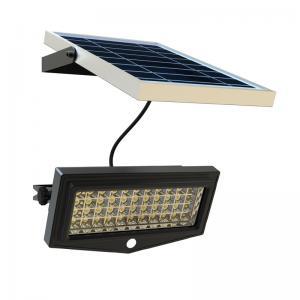 China 5V 10W Flood Solar Panel Yard Lights 2200 Lumin Remote Control Aluminum Material factory