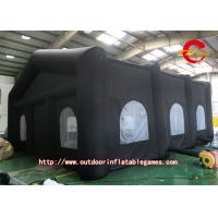 Buy cheap Outside Activities Black Oxford Cloth Inflatable Tent For Camping from wholesalers