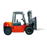 China Durable Warehouse Lifting Equipment 5 Ton Diesel Forklift With Side Sliding Fork factory