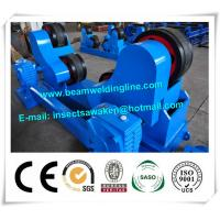 China Blue Conventional Welding Rotator , Self Aligned Welding Turning Rolls factory
