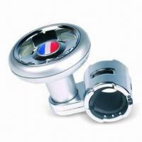 China Steering Wheel Spinner Knob, Made of Aluminum or Plastic factory