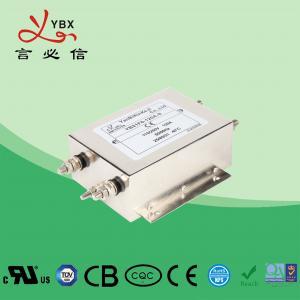 China CE ROHS CQC Standard EMI EMC Filter , AC EMI RFI Power Line Filter factory