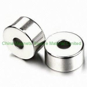China sintering NdFeB strong ring magnet factory