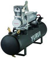 China 12V Portable Heavy Duty Onboard Air Systems Air Compressor Kit  200 PSI 2.5 Gallon Tank factory