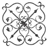 Buy cheap Ornamental wrought Iron Panel from wholesalers