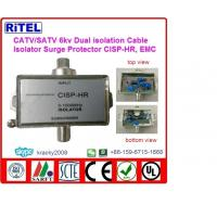 Buy cheap catv_matv_satv 6KV surge protection STB high quality dual isolation ground isolators CISP-HR, compliant with EMC from Wholesalers