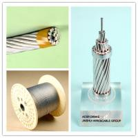 China Corrosion Resistance Galvanized Steel Wire Rope Cable , Electrical Weatherhead Steel Guy Wire on sale