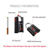 Buy cheap Four - Digit Locker Padlock Rust Proof For Yard Door / Warehouse Door from Wholesalers