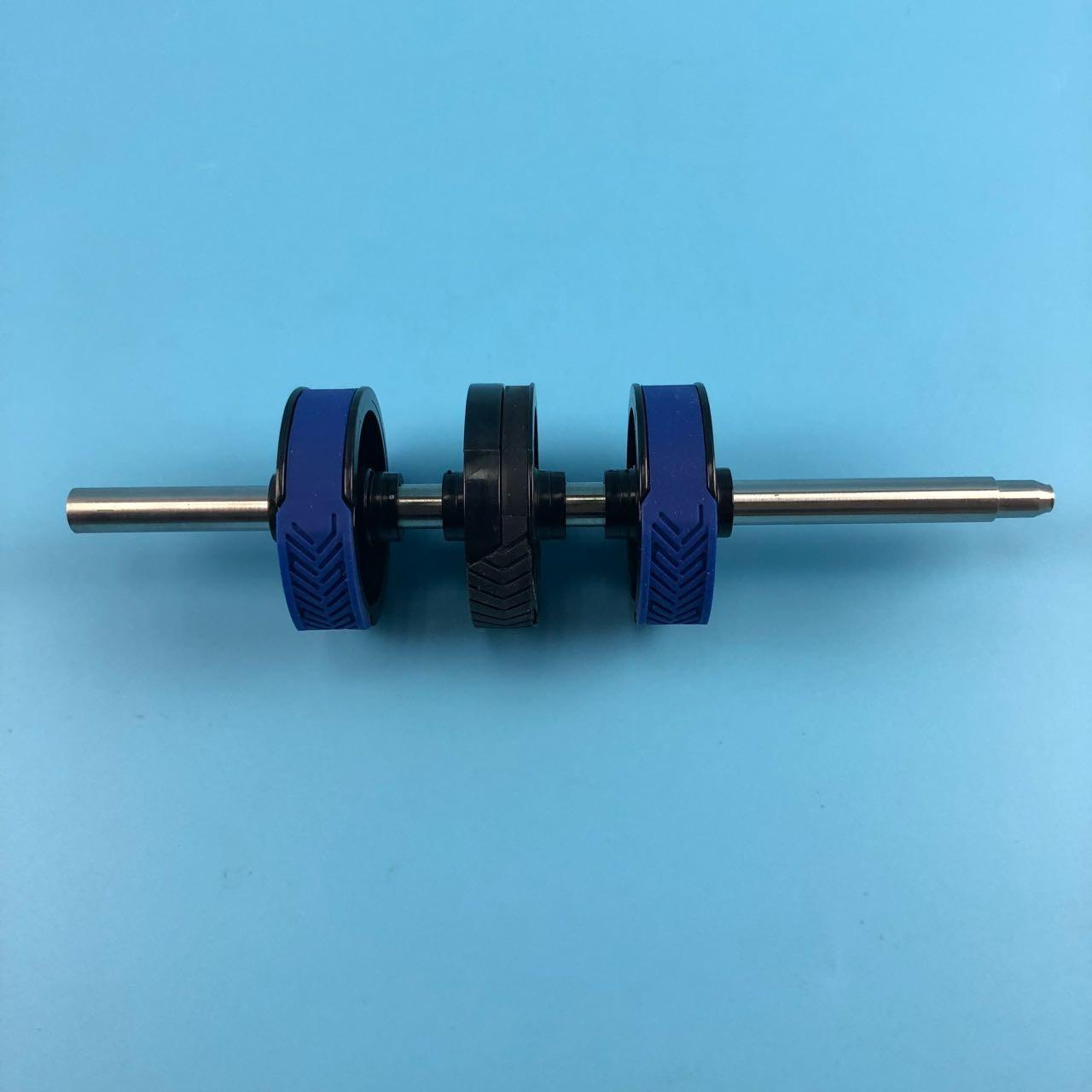 China ATM Parts Original New Diebold Spare Parts Diebold Feed Shaft 49009303000B With High Stability 49-009303-000B factory