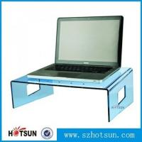 China wholesale custom factory price clear acrylic laptop stand factory