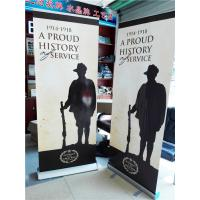 Buy cheap Aluminum Pull Up Retractable Display Banners Digital Printing from Wholesalers