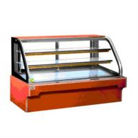 China Cake showcase chiller display fridge with fan cooling / R134a system factory