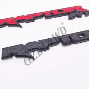 China 14.7' 4x4 Body Kits F150 plastic AM TAPE Raptor Suv Tailgate Emblem Ranger Raptor Mark on sale