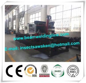China OTC Welder CNC Milling Machine Steel Plate / Structure Drilling Machine factory