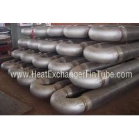 Buy cheap A213 T91 Alloy Steel Tubes , HF Hairpin Spiral Welded Fin Tube For Economizers from Wholesalers