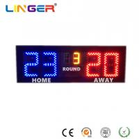 China Badminton LED Electronic Scoreboard With 6 Inches Digits For Indoor Use factory