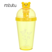 China Healthy Material 173g 450ml Cartoon Reusable Water Bottle factory