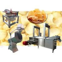 Buy cheap Tapioca Potato Chips Production Line Chips Making Machine 200KG / H 380V Voltage from Wholesalers