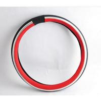 Buy cheap PU steering wheel cover hand made car cover hot sale good quality from wholesalers
