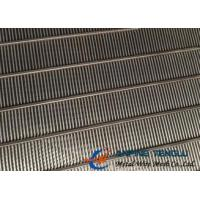 China Stainless Steel Wedge Wire Screen Tube/ Wedge Wire Cylinder/ Round Slot Tube factory