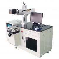 China Water Cooling 50W 75W 100W Diode Laser Marking Machine on sale