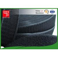 Buy cheap 50Mm Wide Black Hook And Loop Tape / Male And Female Hook And Loop Roll Fastening from Wholesalers