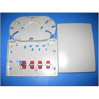 China Indoor Surface Mounted FTB Fiber Optic Termination Box with ABS Plastic Fibre Wall Outlet on sale