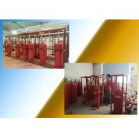 Quality Chemical FM 200 Fire Suppression System Of 120L Type Cylinder wholesale
