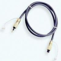 Buy cheap Optical Cable, Fiber Cable with High Performance, for Digital Audio, Small Size from Wholesalers
