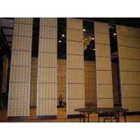 China Aluminium Sliding Partition Walls for Banquet Hall / Soundproof Wall Panels on sale