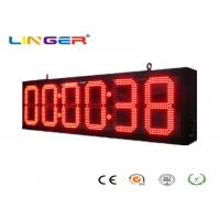China IP65 Front Wall LED  Digital Clock for Bus Station / Train Station factory
