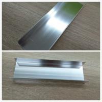 Buy cheap Silver Brightness Machanically Polished Aluminum Profiles Highly Wear Resistance from Wholesalers