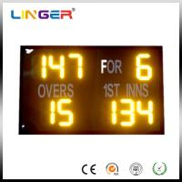 China Outdoor Easy Operation Cricket Digital Scoreboard With 2 Years Warranty factory