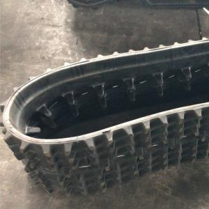 China Rubber Track Crawler WD200X72X27 for Snowmobile Snow Blower, Snowcat, Snow track factory