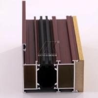 China OEM Aluminum Door Profile Easy Installation High Corrosion Resistance Sound Insulation factory