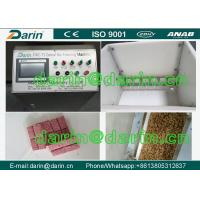 China Healthy snack peanut Cereal Bar Making Machine can be round , cylindrical , square shapes on sale